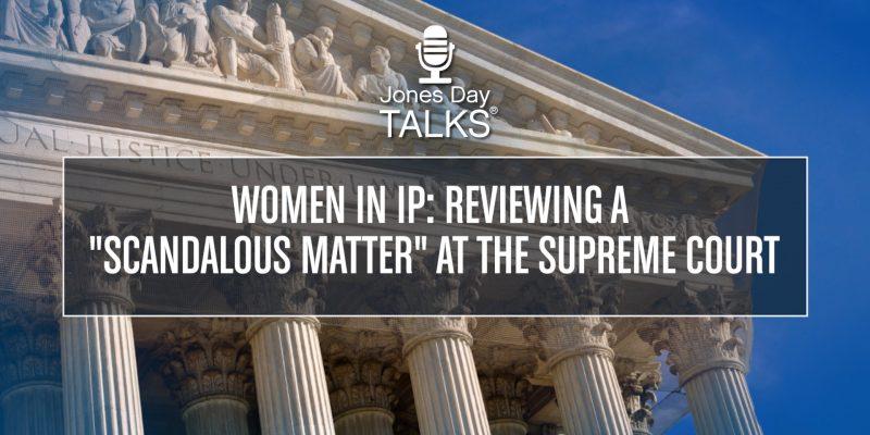 Scandalous Matter at Supreme Court