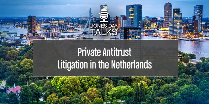 Private Antitrust LItigation in the Netherlands